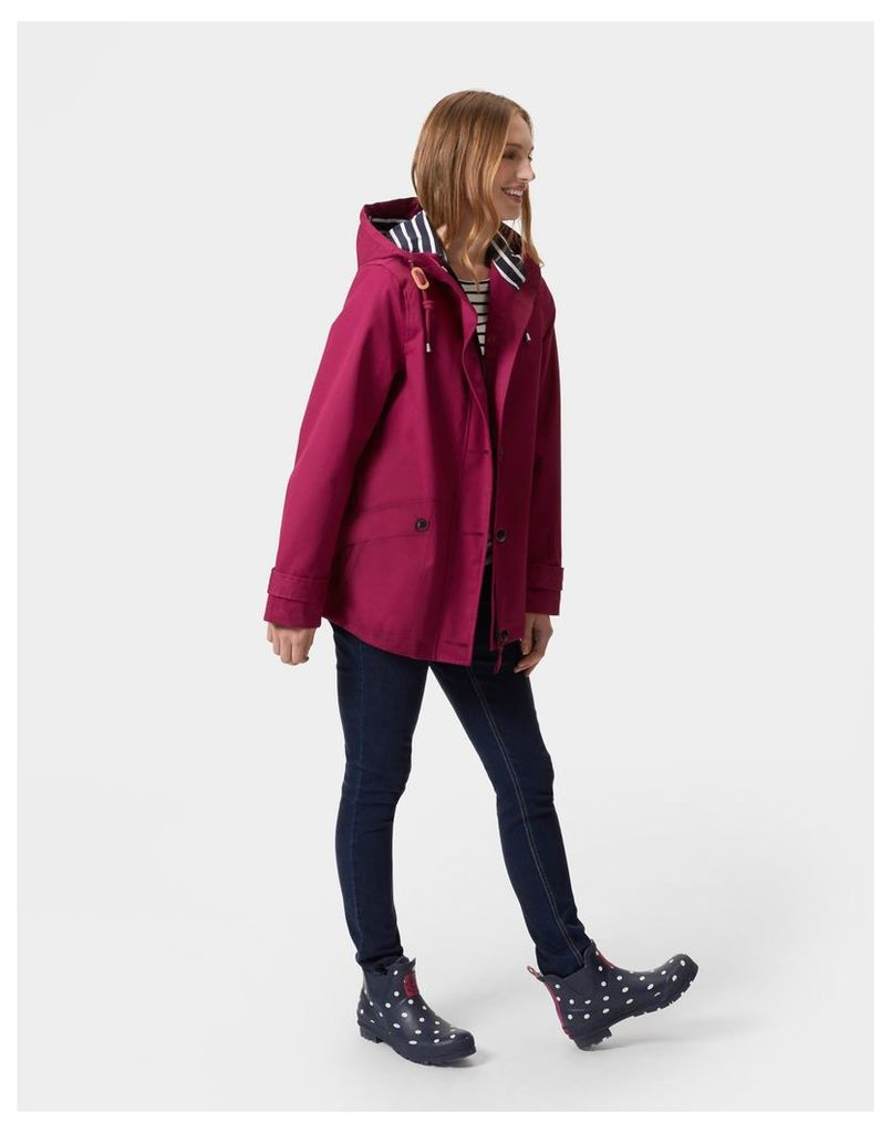 Berry Coast Waterproof Jacket  Size 10 | Joules UK