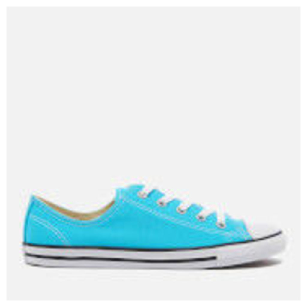 Converse Women's Chuck Taylor All Star Dainty Trainers - Fresh Cyan/Black/White