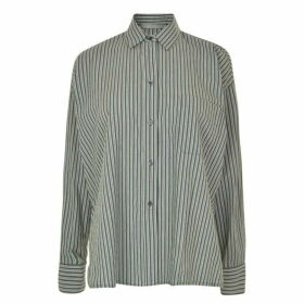 Vince Oversized Striped Shirt