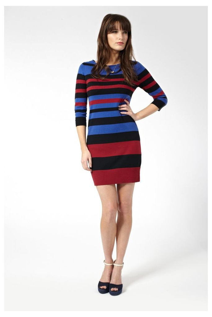 Sunny Stripe Jumper Dress