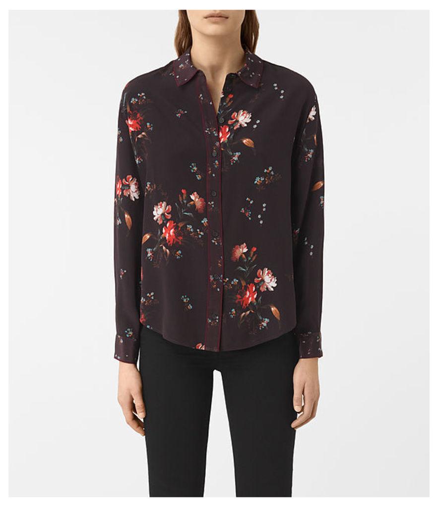 Gira Amarillo Silk Shirt