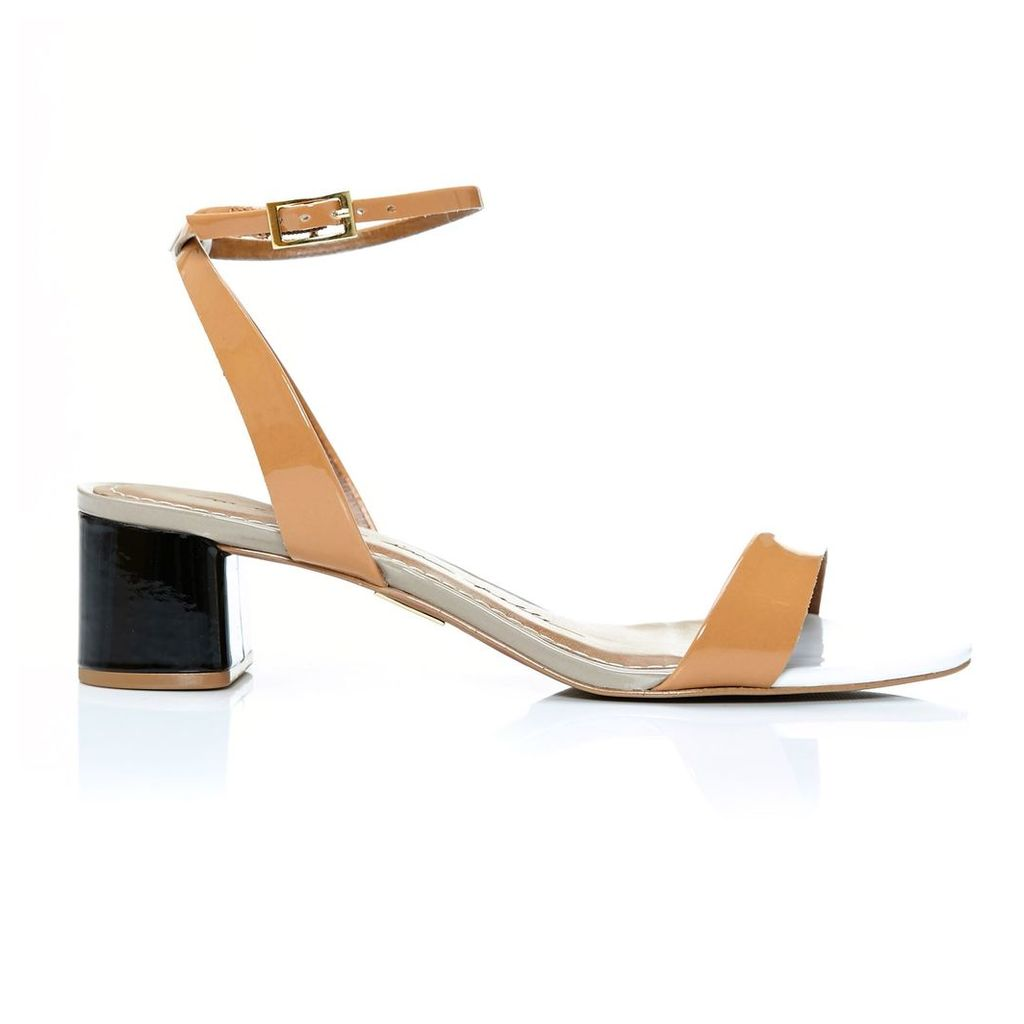 Moda in Pelle Marea Tan Medium Smart Sandals