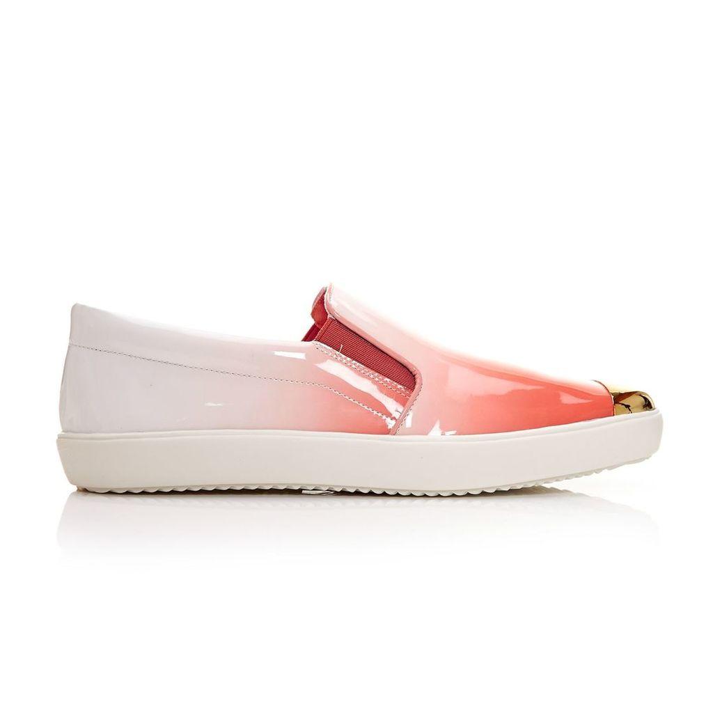 Moda in Pelle Fabia Peach Low Leisure Shoes
