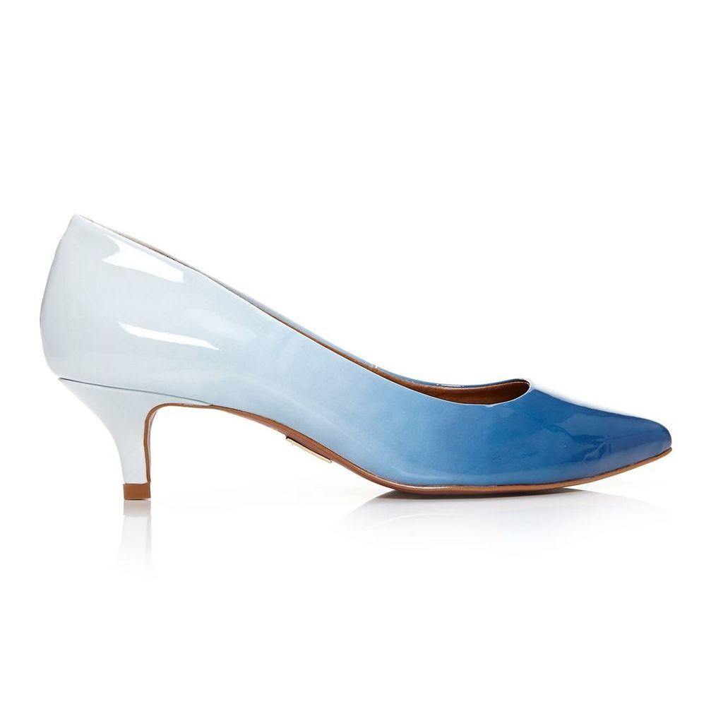 Moda in Pelle Catarine Navy Low Smart Shoes