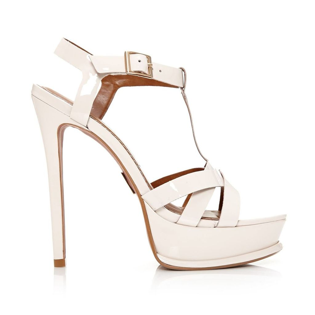 Moda in Pelle Serafina Light Nude Very High Smart Sandals