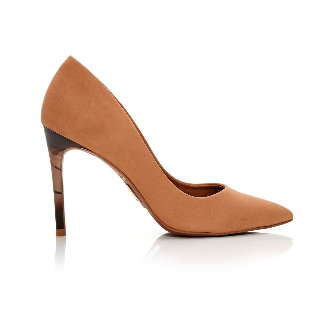 Moda in Pelle Christa Tan High Smart Shoes