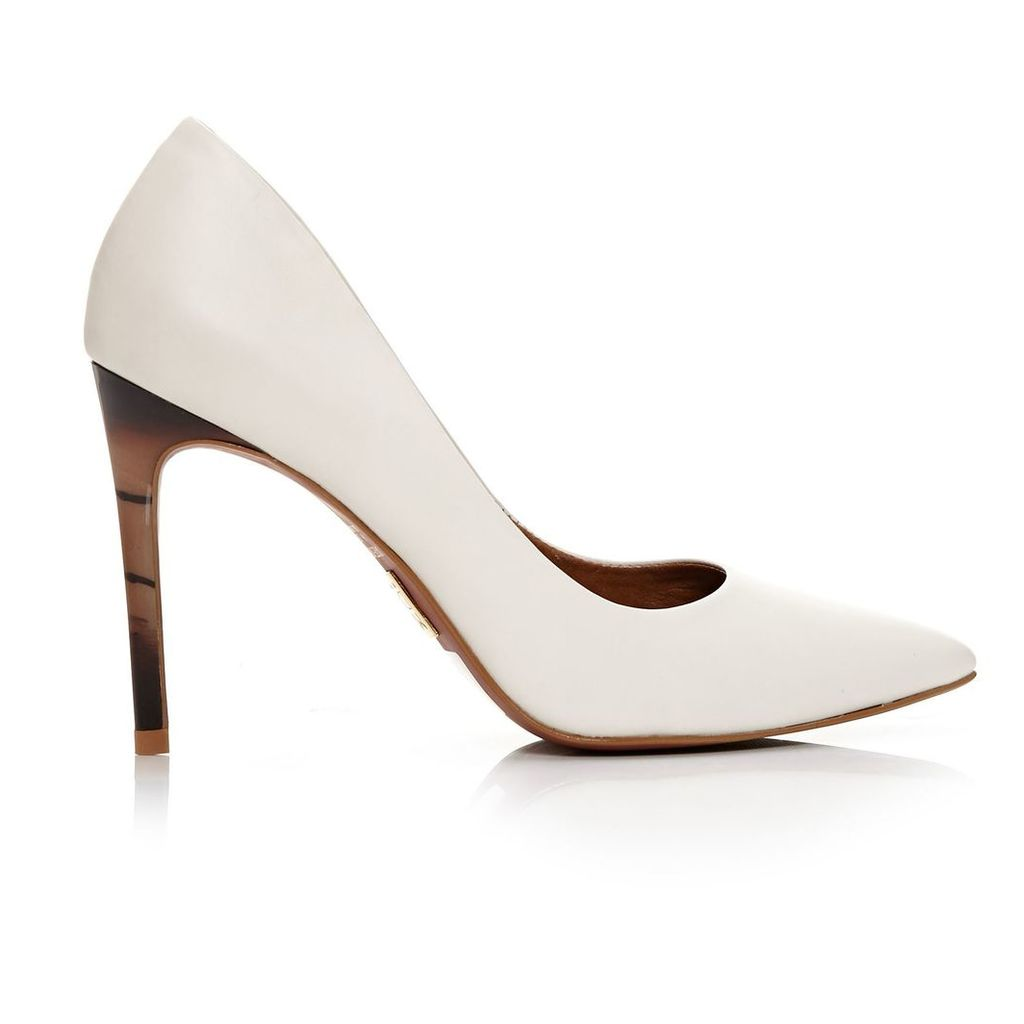 Moda in Pelle Christa Champagne High Smart Shoes