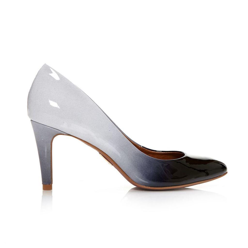 Moda in Pelle Calini Black Medium Smart Shoes