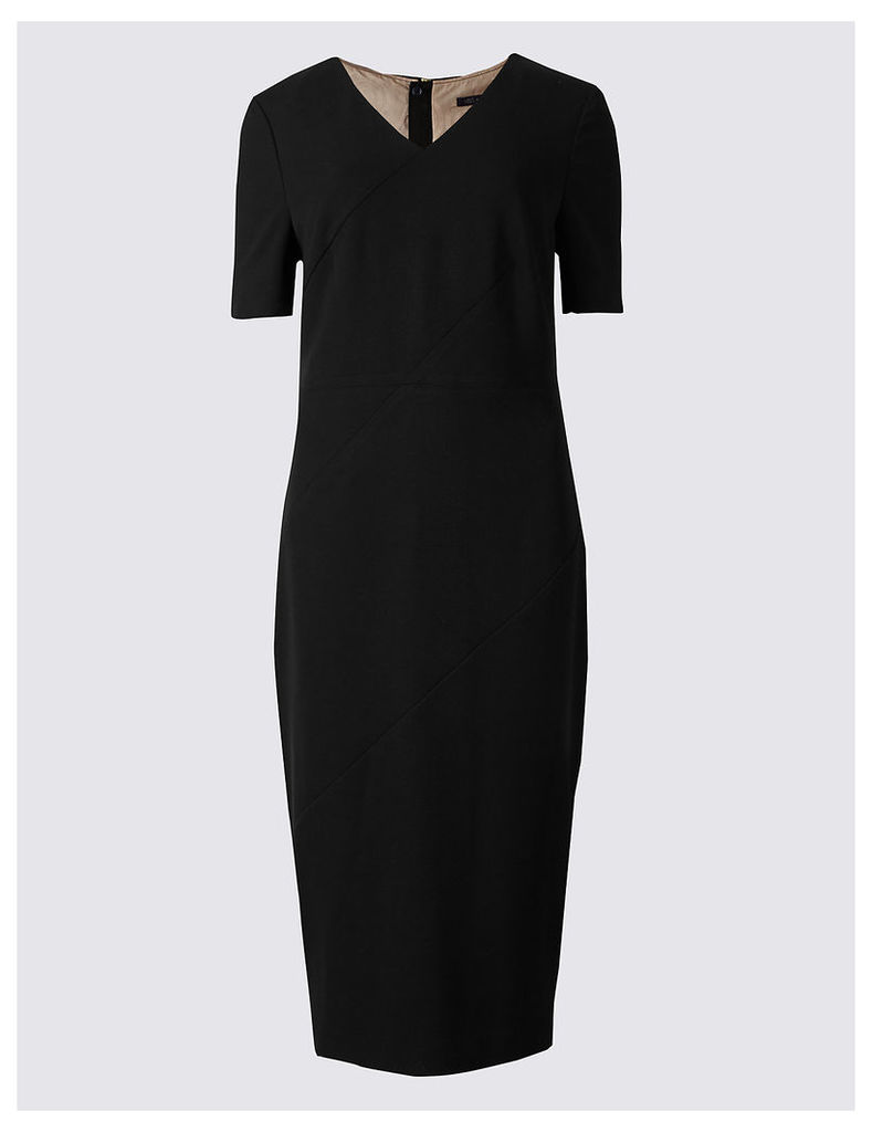 M&S Collection Angled Seam Shift Dress