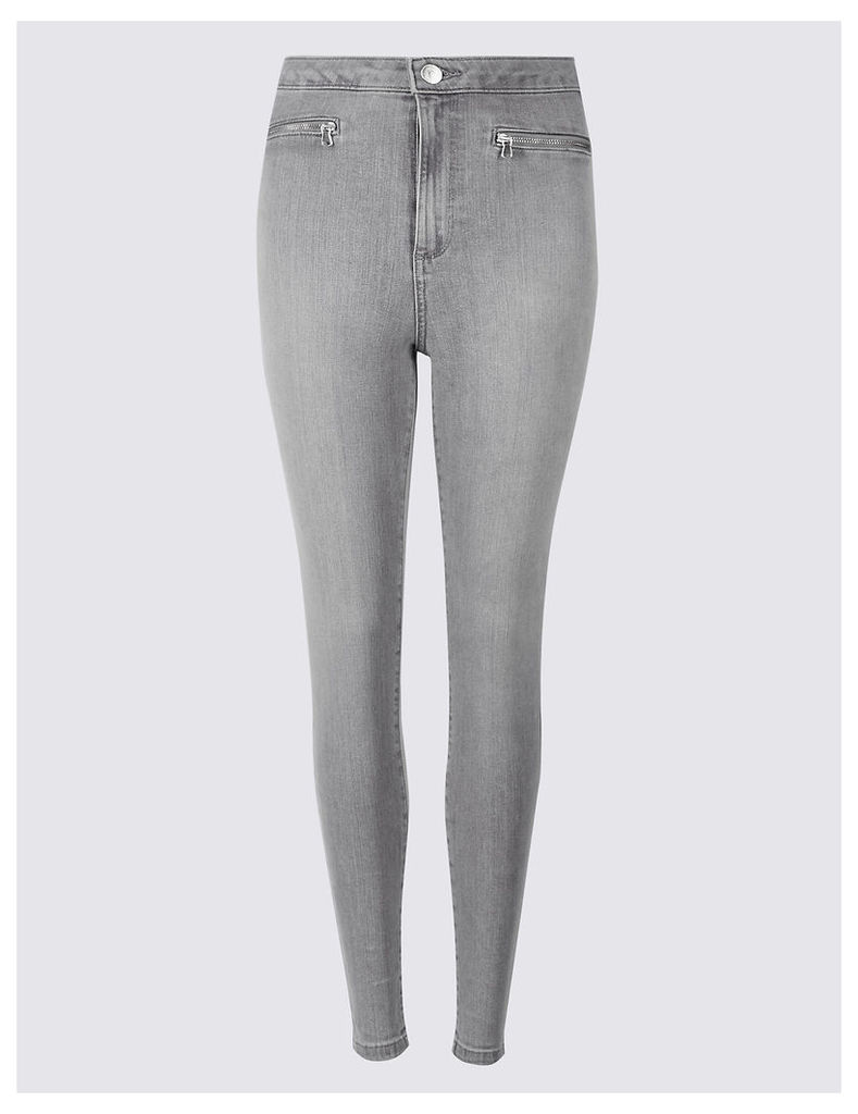 Limited Edition Mid Rise Skinny Leg Jeans