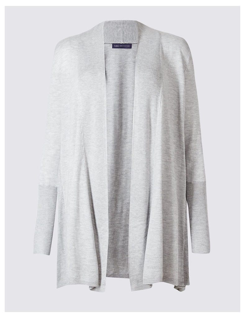 M&S Collection Trapeze Slinky Cuff Cardigan