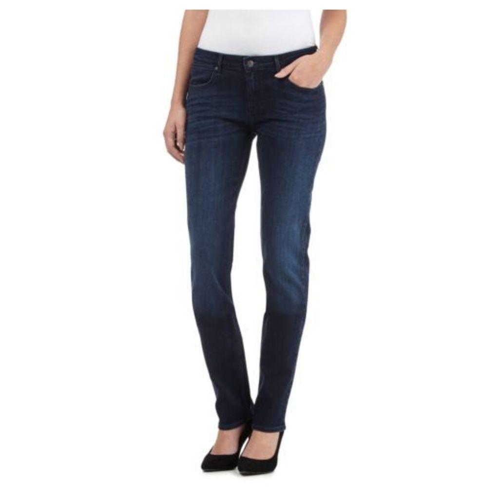 Wrangler Womens Drew Mid Wash Slim Leg Jeans From Debenhams 29R