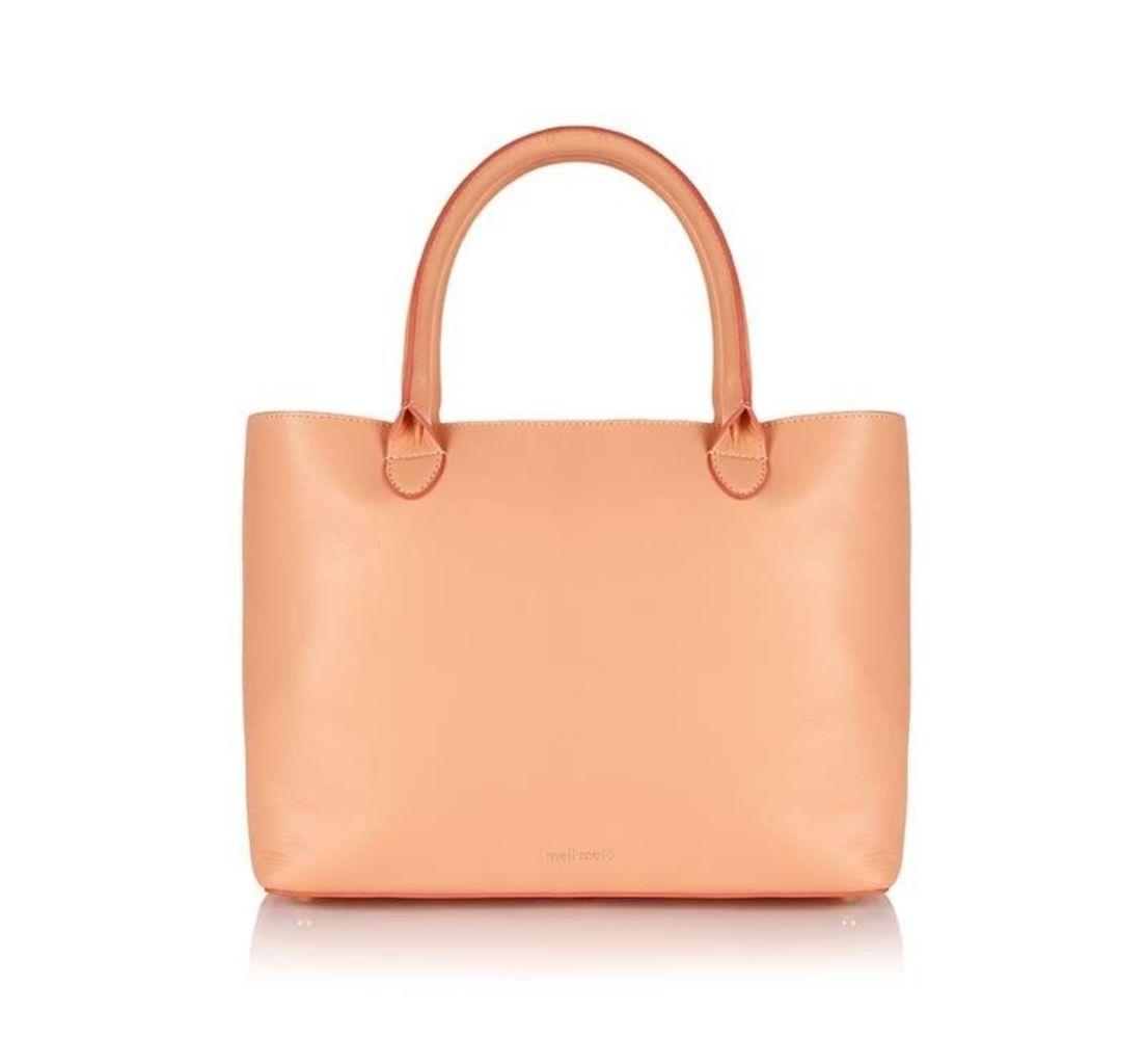 Sian Shopper Bag Medium in Nude