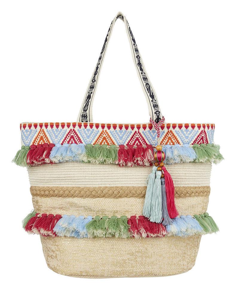 Tanya Tassel Beach Bag