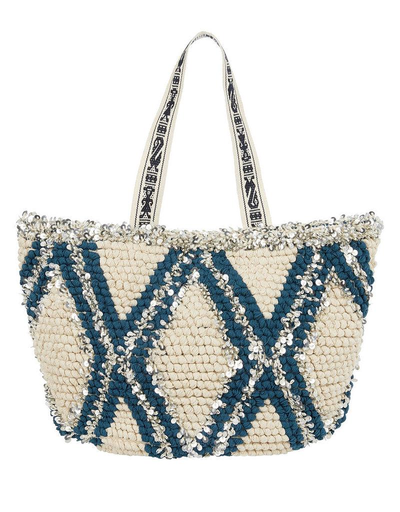 Bettina Sequin Beach Bag