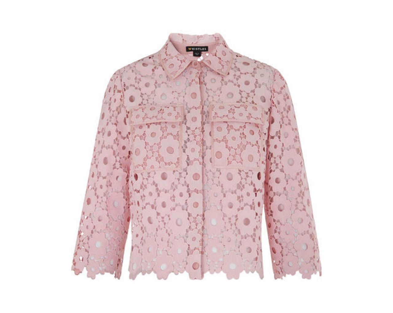 Lia Daisy Lace Shirt