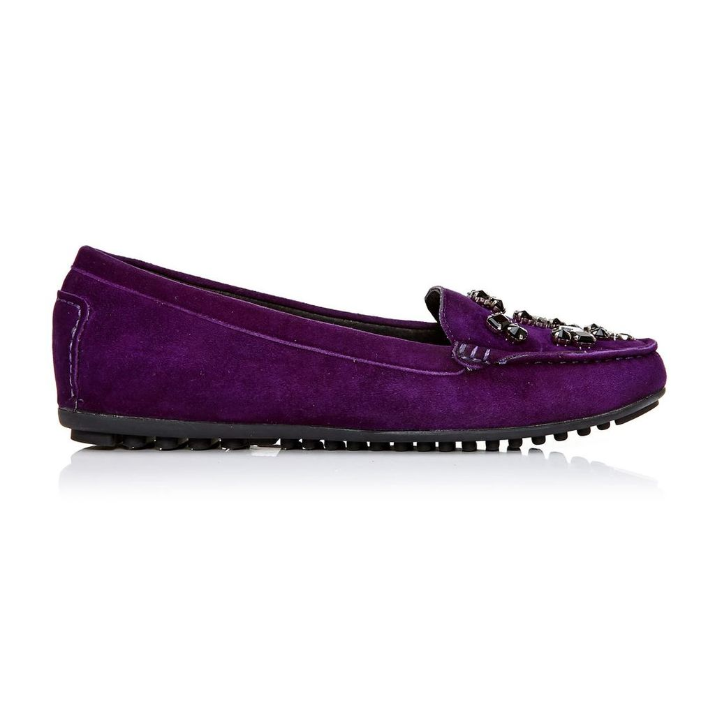 Moda in Pelle Emili Purple