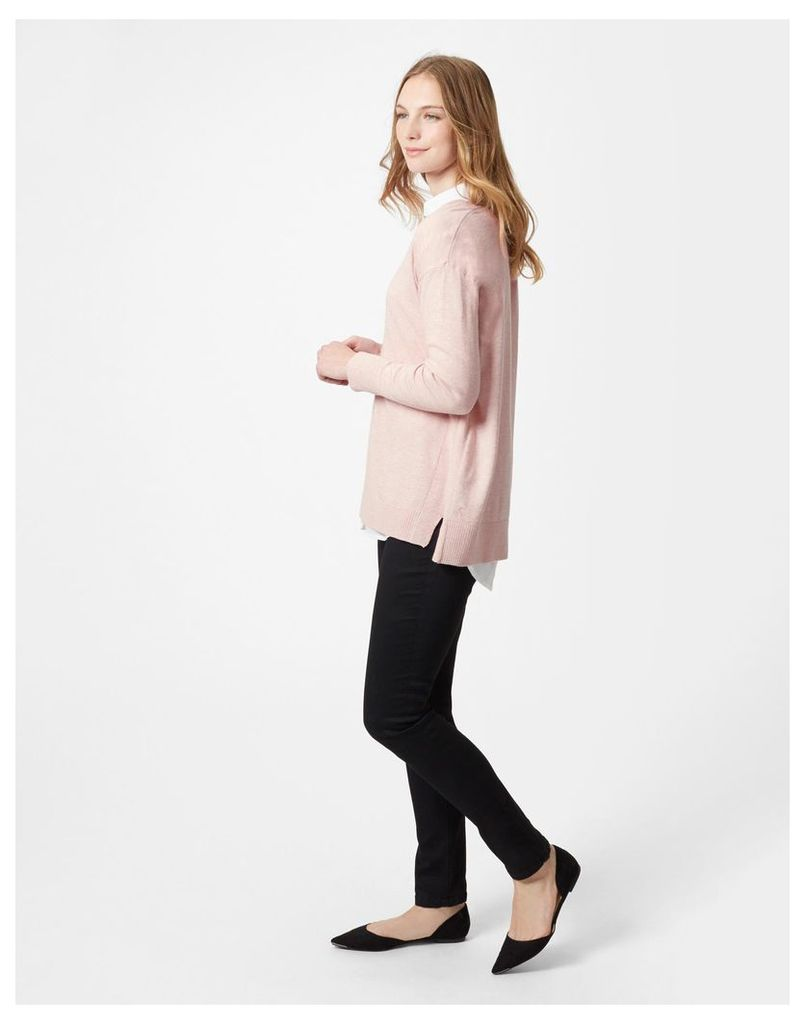 Dusty Pink Rachel Jumper  Size 14 | Joules UK