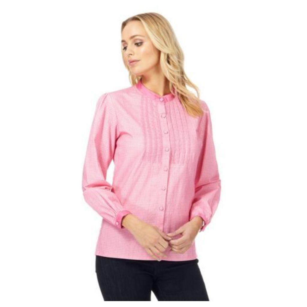 Racing Green Womens Pink Lace Blouse From Debenhams 14