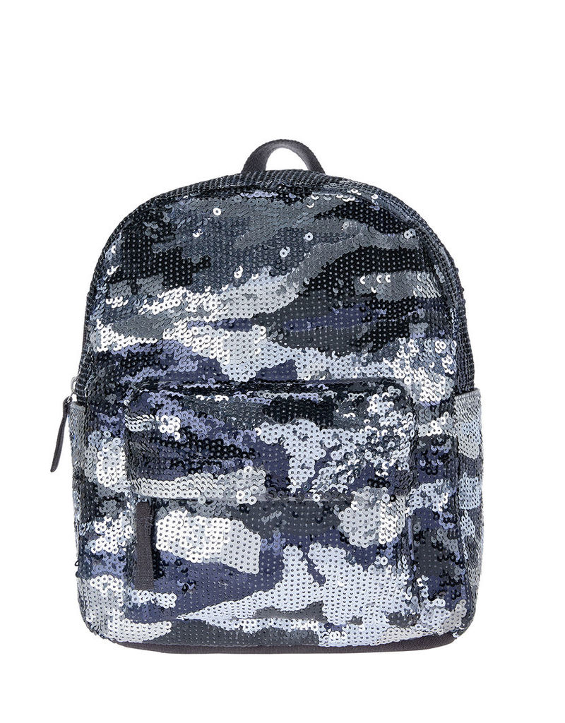 Sequin Camo Mini Backpack