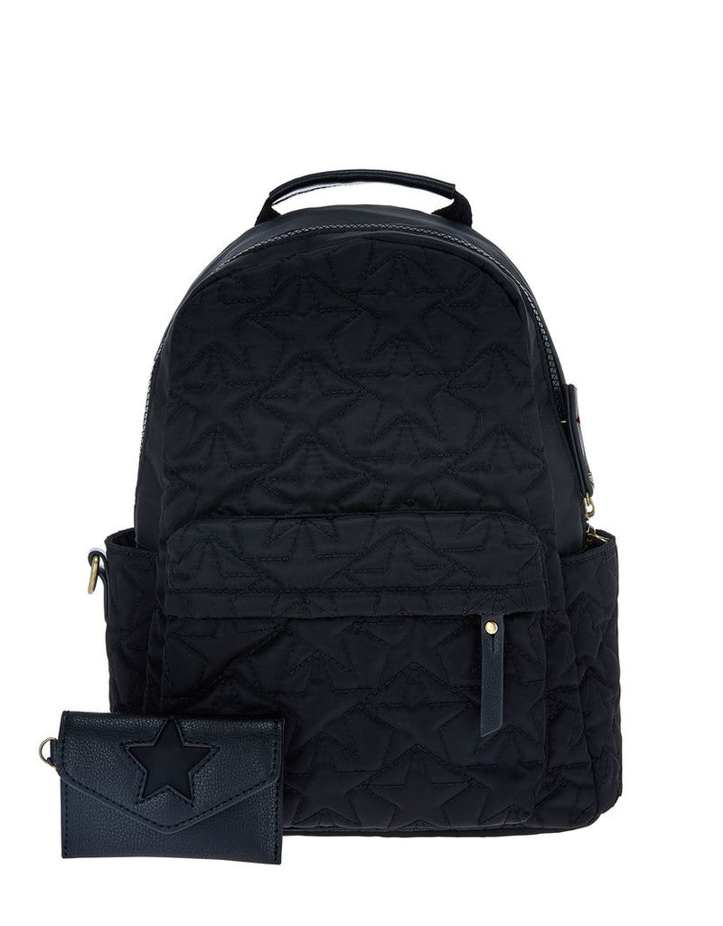 Mini Star Quilted Backpack