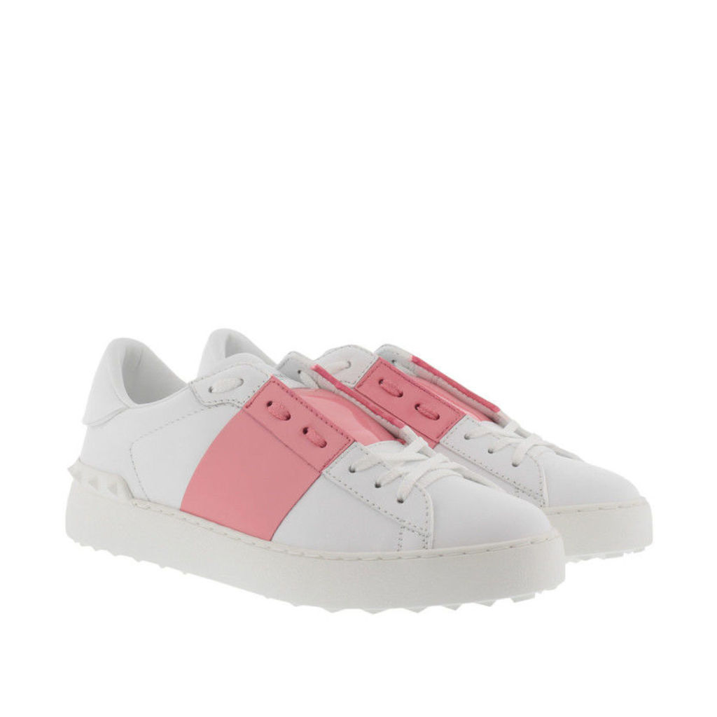 Valentino Sneakers - Bicolor Rockstud Sneaker White/Pink - in rose, white - Sneakers for ladies