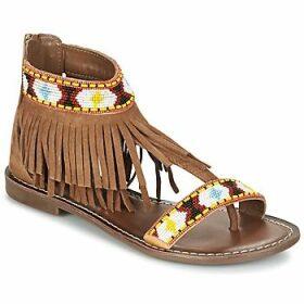 Metamorf'Ose  ZACCIN  women's Sandals in Brown