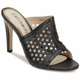 Café Noir  MOVELA  women's Sandals in Black
