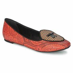 Etro  3058  women's Shoes (Pumps / Ballerinas) in Orange