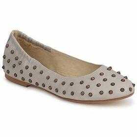 Now  CROTONE  women's Shoes (Pumps / Ballerinas) in Beige