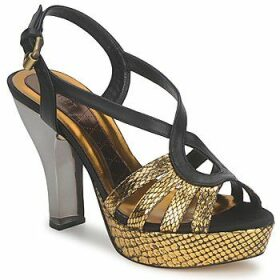 Magrit  GOLD EFFECT  women's Sandals in Gold