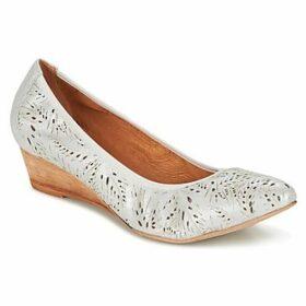 Un Matin d'Ete  INOLA  women's Shoes (Pumps / Ballerinas) in Silver