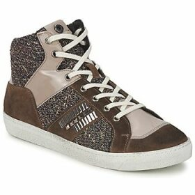 Janet Sport  ERICMARTIN  women's Shoes (High-top Trainers) in Brown