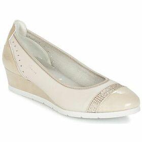 Dorking  DESEO  women's Shoes (Pumps / Ballerinas) in Beige