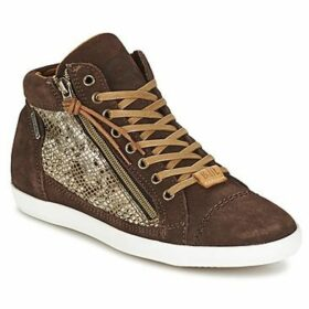 Banana Moon  SKIPPY  women's Shoes (High-top Trainers) in Brown