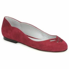 Fred Marzo  MOMONE FLAT  women's Shoes (Pumps / Ballerinas) in Red