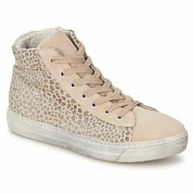 Dixie  BUP 35  women's Shoes (High-top Trainers) in Beige