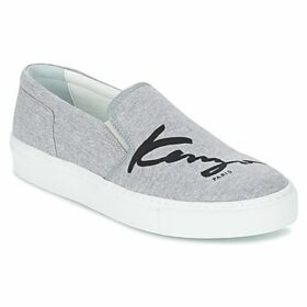 Kenzo  K-SKATE  women's Slip-ons (Shoes) in Grey