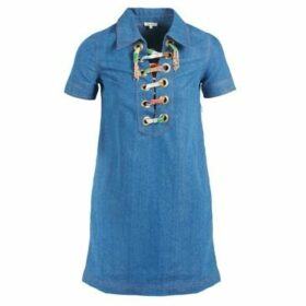 Manoush  LACET  women's Dress in Blue