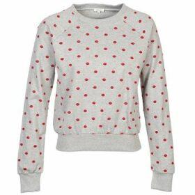 Manoush  LIPDROP SWEAT  women's Sweatshirt in Grey