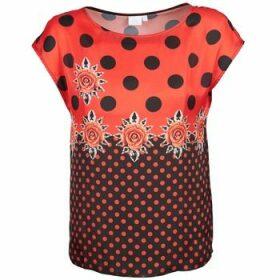 Alba Moda  BETTINA  women's T shirt in Red