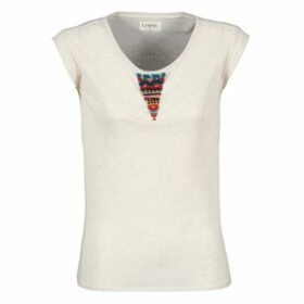 Chipie  LAHABA  women's T shirt in White