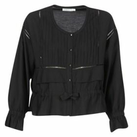 See U Soon  7113001  women's Blouse in Black