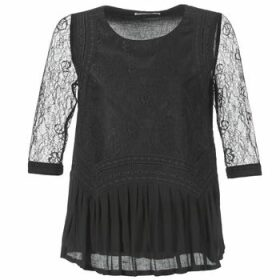 See U Soon  SATURNIN  women's Blouse in Black