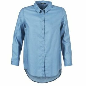 School Rag  CHELSY  women's Shirt in Blue