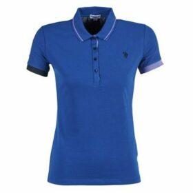 U.S Polo Assn.  SOFIA  women's Polo shirt in Blue