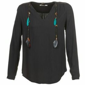 See U Soon  CABRAVO  women's Blouse in Black