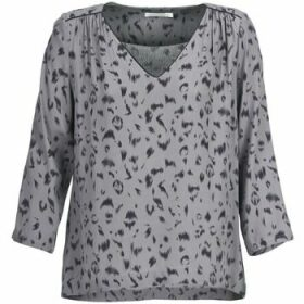 See U Soon  HABITO  women's Blouse in Grey