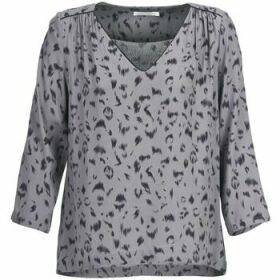 See U Soon  HABITO  women's Blouse in Grey