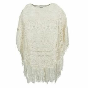 Noisy May  CROCHET  women's Sweater in White